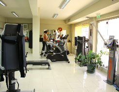 Corfu Physiotherapy personal training area