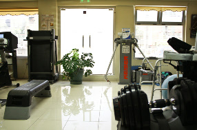 Corfu Physiotherapy Gym Area